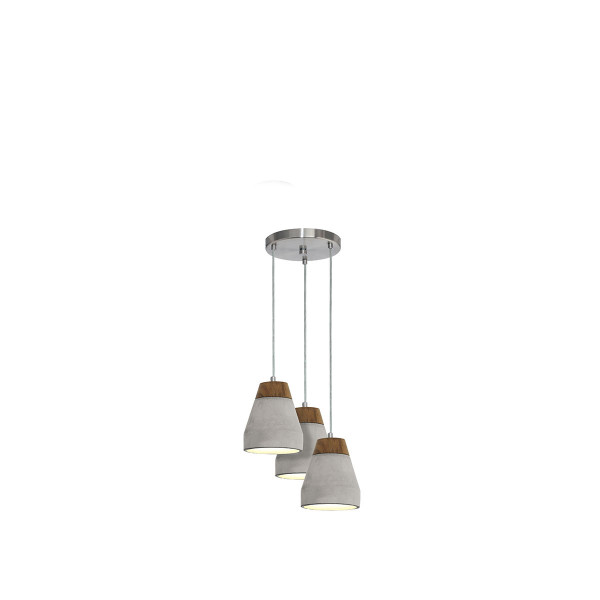 Φωτιστικό Οροφής Τρίφωτο Eglo Tarega 95526