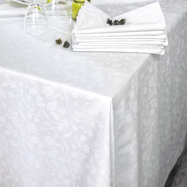 Πετσέτα Φαγητού (50x50) Rythmos Bensimon White