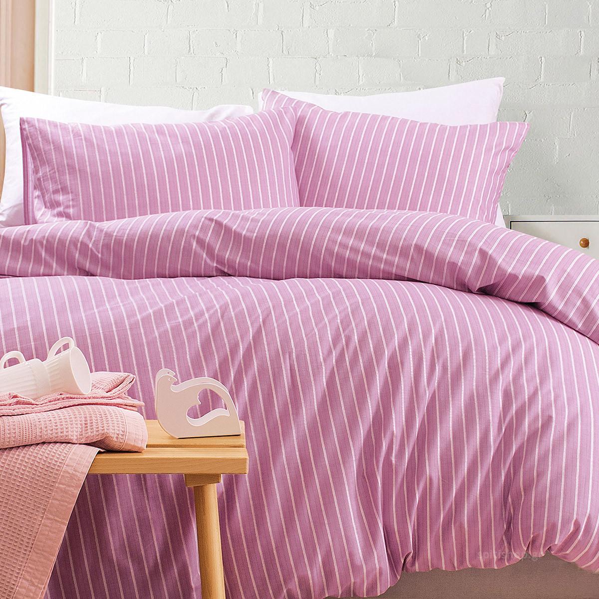 Ζεύγος Μαξιλαροθήκες Rythmos Nova Granada Pink