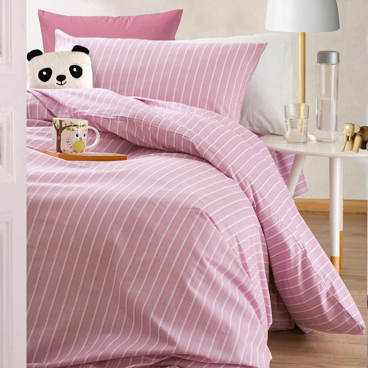 Κουβερλί Μονό (Σετ) Rythmos Nova Granada Pink