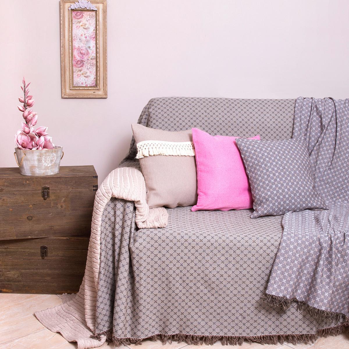 Ριχτάρι Τριθέσιου (180×300) Loom To Room Ristine Beige
