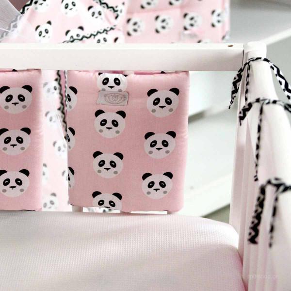 Προστατευτικό Για Κάγκελα Κούνιας 1τμχ Ninna Nanna Pink Panda