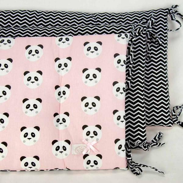 Πάντα Κούνιας Από 3 Ξεχωριστά Κομμάτια Ninna Nanna Pink Panda