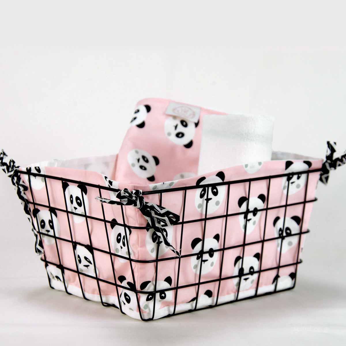 b690c9db81c -10% Spiti Shop Καλαθάκι Καλλυντικών Ninna Nanna Pink Panda