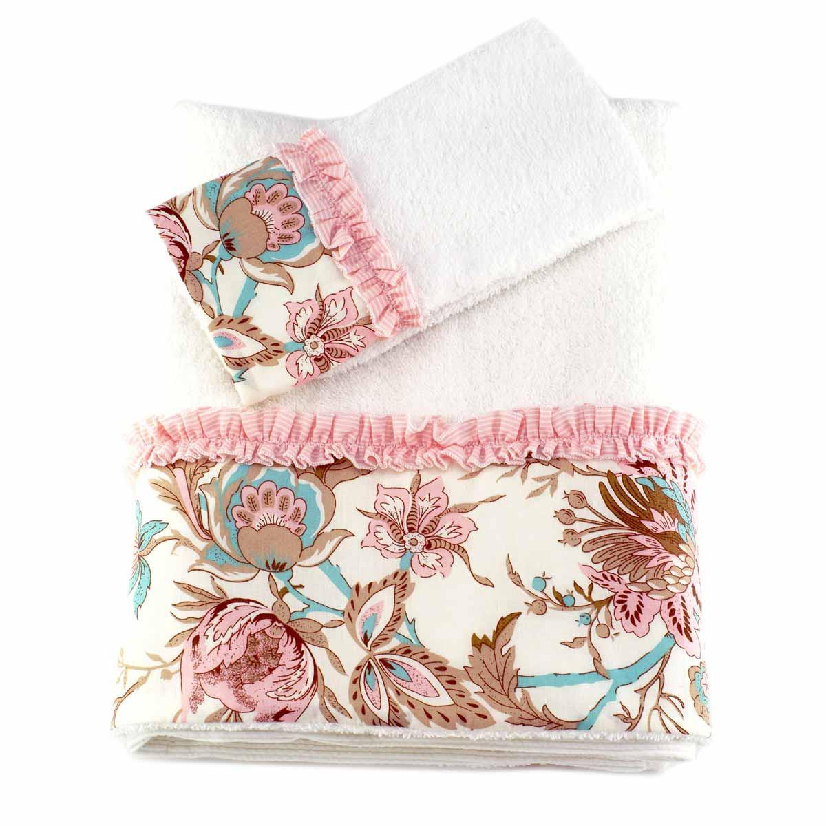 Βρεφικές Πετσέτες (Σετ 2τμχ) Ninna Nanna Sweet Floral