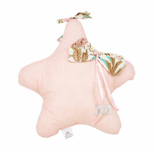 Προστατευτικό Μαξιλάρι Κούνιας Ninna Nanna Sweet Floral Αστέρι