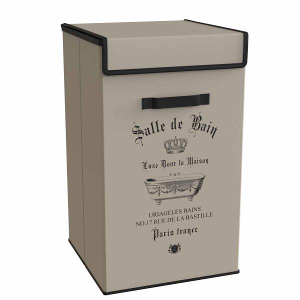 Καλάθι Απλύτων Estia Salle De Bain Beige 02-5993