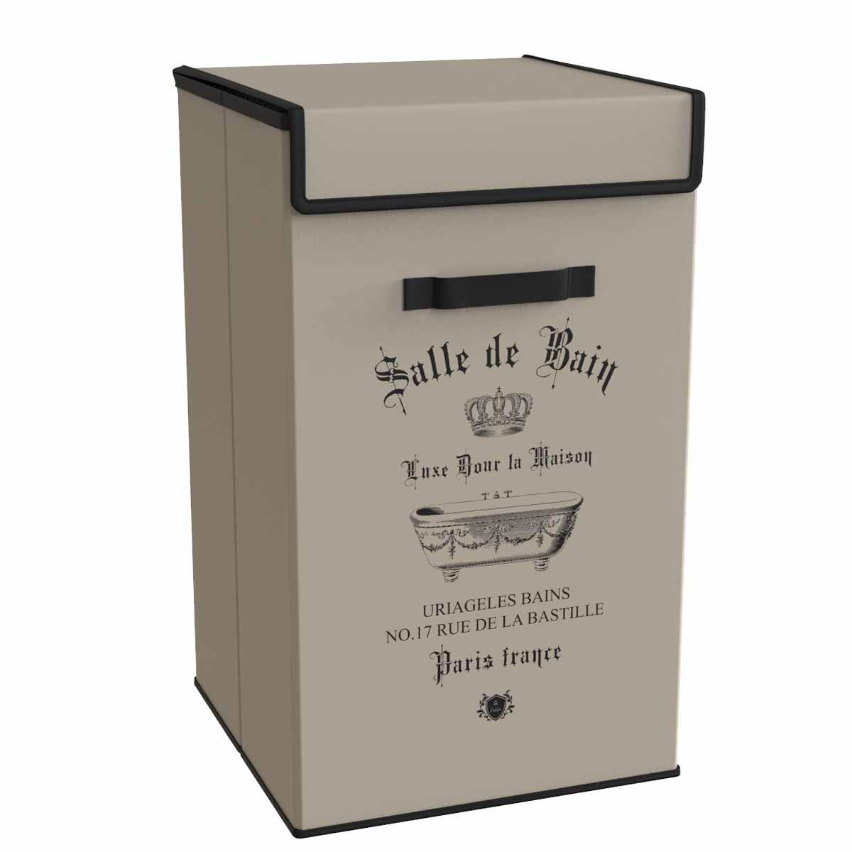 Καλάθι Απλύτων (30x30x60) Estia Salle De Bain Beige 02-5993