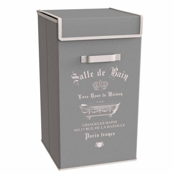 Καλάθι Απλύτων Estia Salle De Bain Grey 02-6006