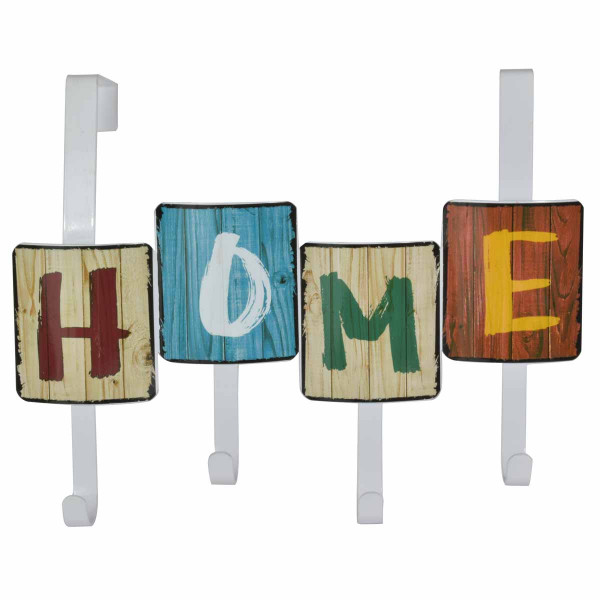 Κρεμάστρα Πόρτας 4 Θέσεων Estia Home Colors 02-6778