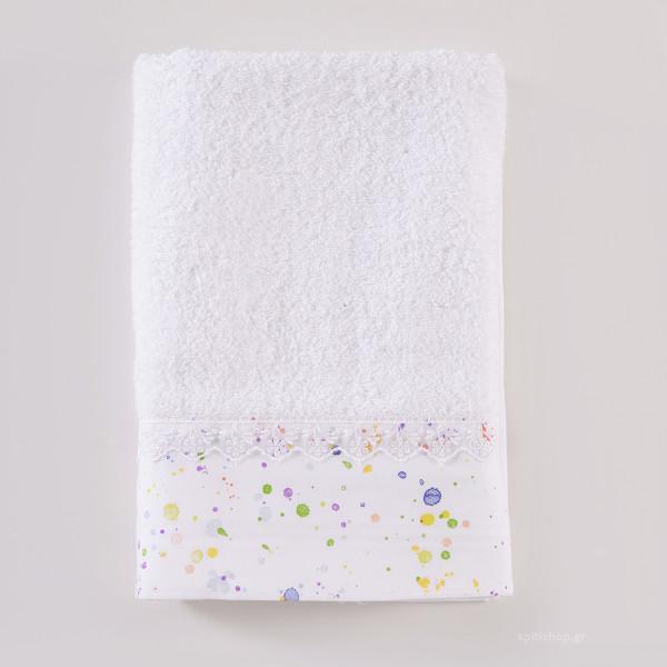 Παιδικές Πετσέτες (Σετ 3τμχ) Rythmos Paint Spots