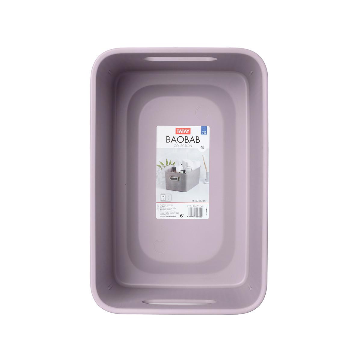 Κουτί Αποθήκευσης Tatay Baobab Small 70101.02 Lilac