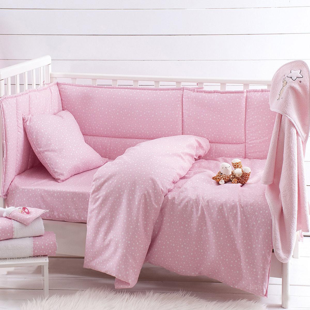 Σεντόνι Λίκνου Rythmos Galaxy Pink