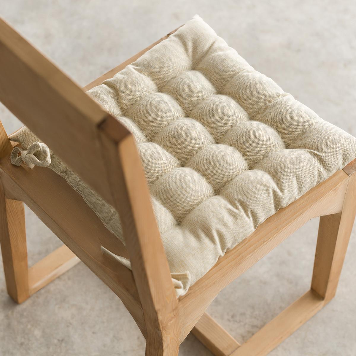 Μαξιλάρι Καρέκλας Gofis Home Hygg Beige 213/06