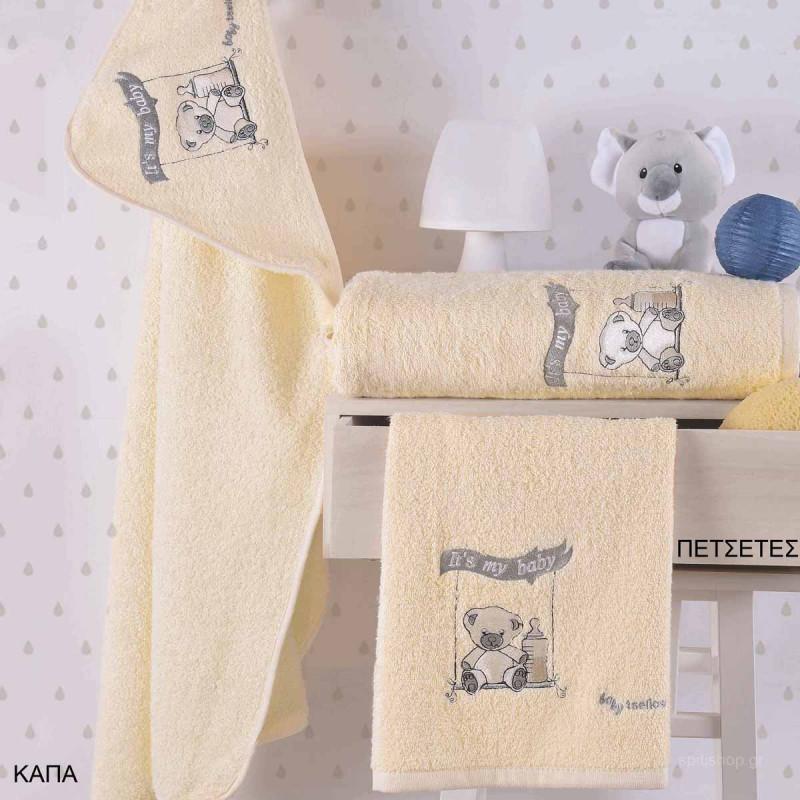 Βρεφικές Πετσέτες (Σετ 2τμχ) Makis Tselios Baby Tito