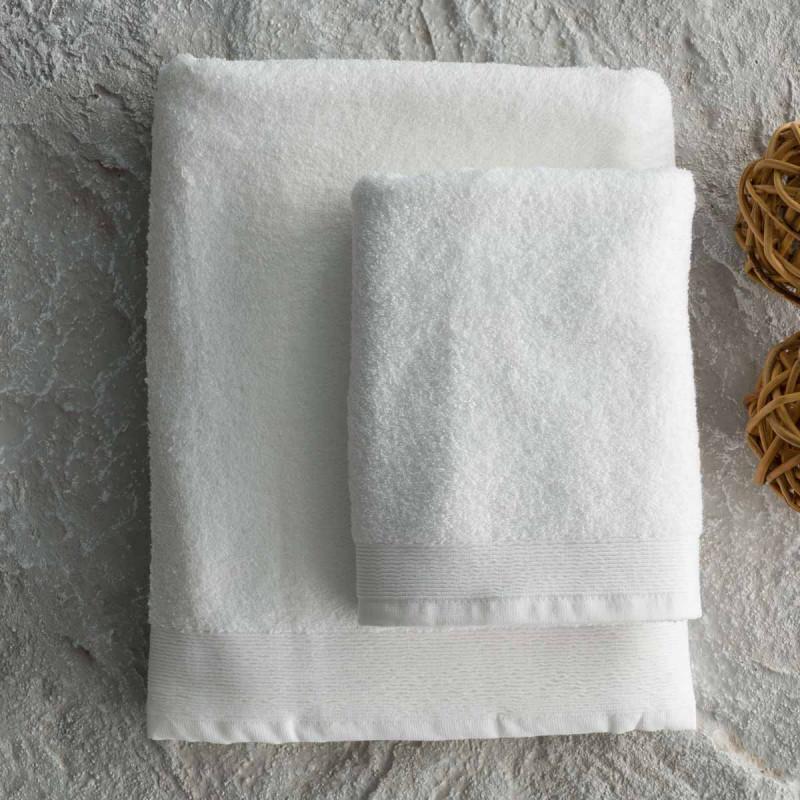 Πετσέτες Μπάνιου (Σετ 2τμχ) Vesta Suite Project 600GR