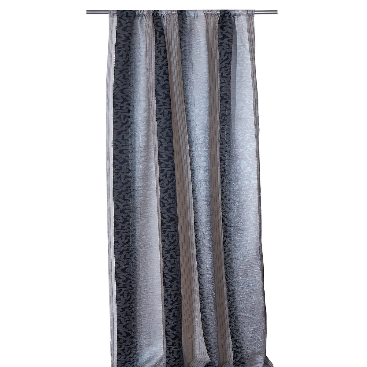 Κουρτίνα (280×270) Με Τρέσα Viopros 6375 Γκρι