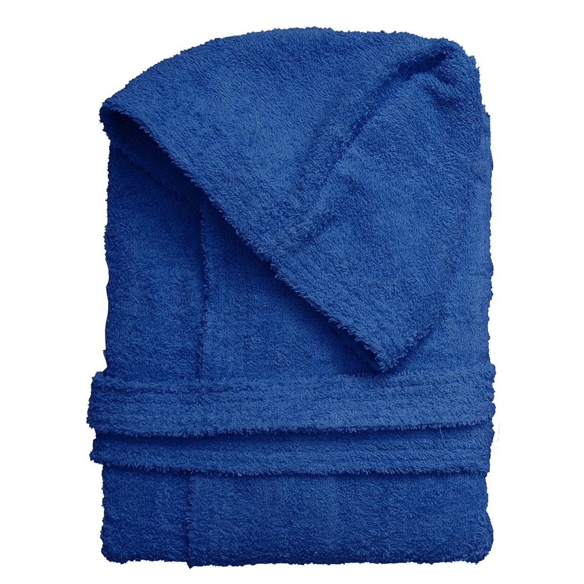 Μπουρνούζι Με Κουκούλα Viopros Economy Μπλε X-LARGE X-LARGE