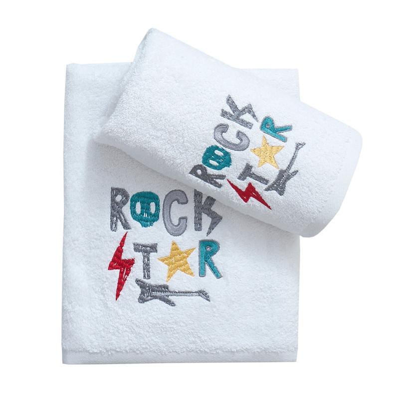 Παιδικές Πετσέτες (Σετ 2τμχ) Viopros Ροκ Σταρ