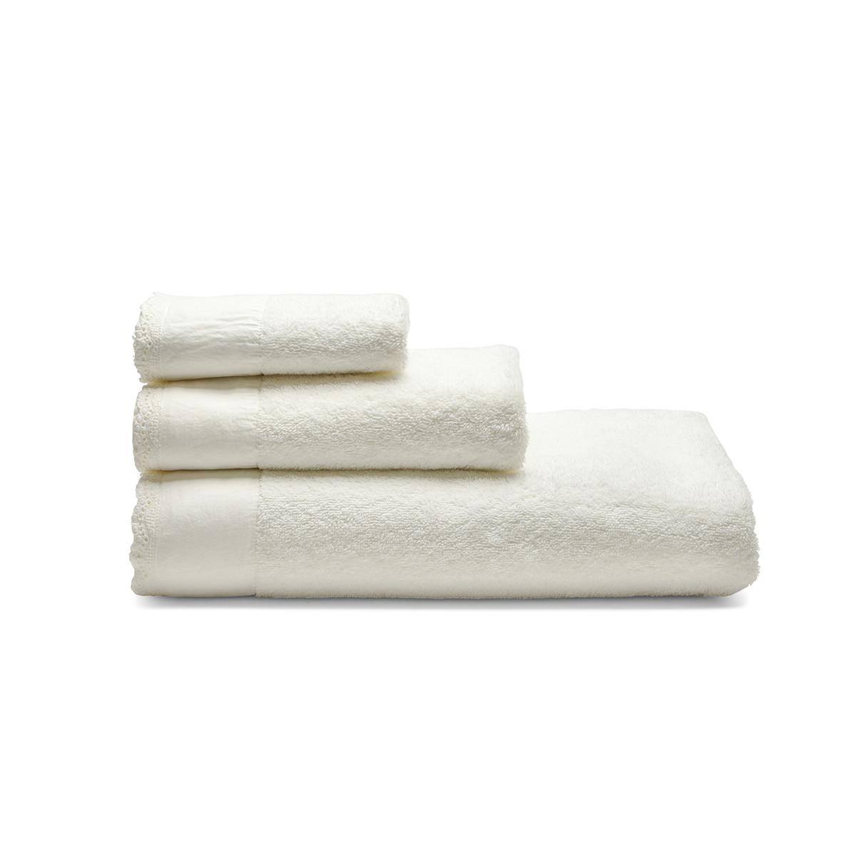 Πετσέτα Σώματος (90×150) Laura Ashley En.Lace Ivory
