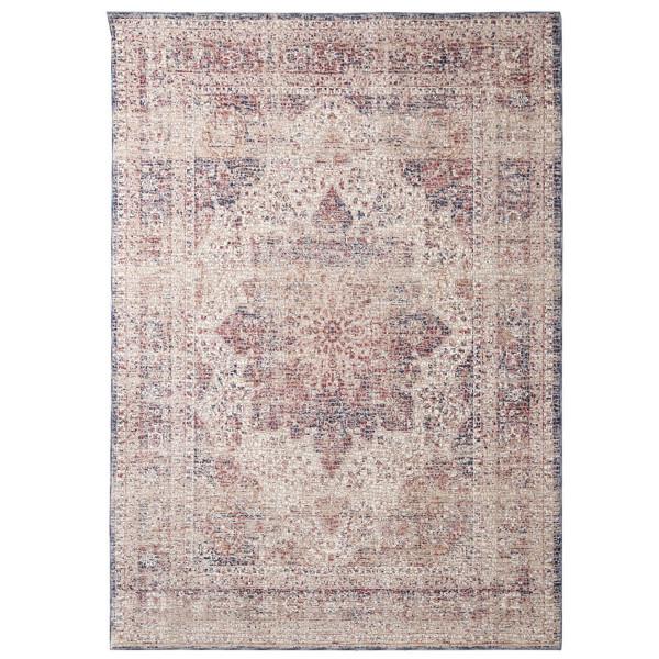 Χαλί Διαδρόμου (80x150) Royal Carpets Palazzo 6533C Ivory D.Blue