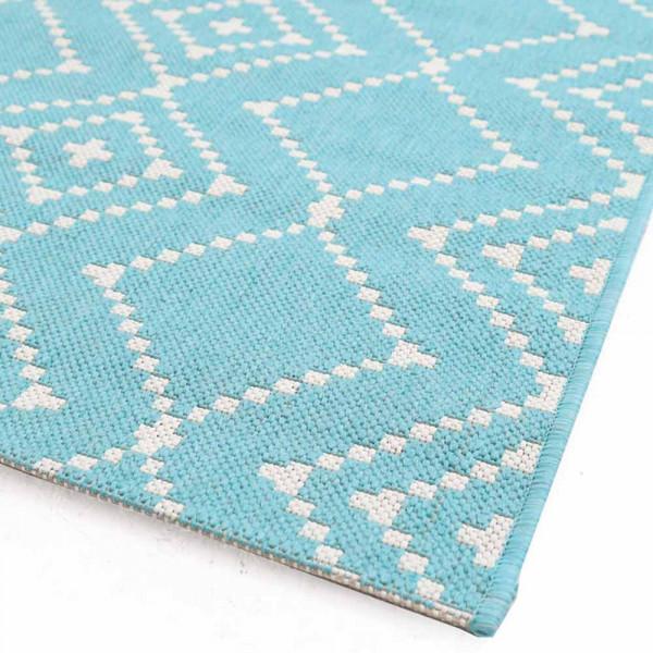 Χαλί Διαδρόμου (67x140) Royal Carpets Flox 47 L.Blue