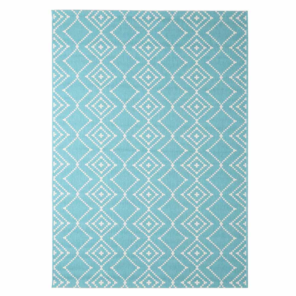 Χαλί Καλοκαιρινό (140×200) Royal Carpets Flox 47 L.Blue