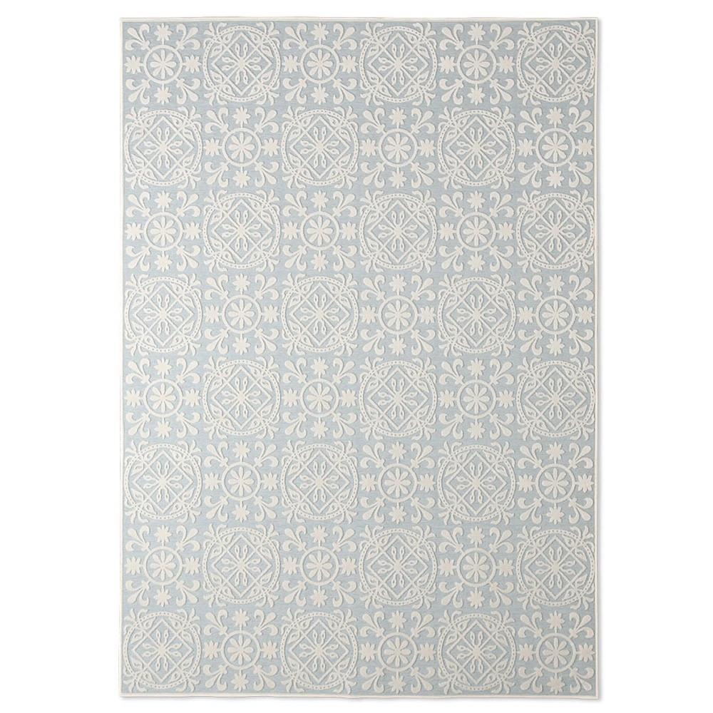 Χαλιά Κρεβατοκάμαρας (Σετ 3τμχ) Royal Carpets Palma 1646 Blue