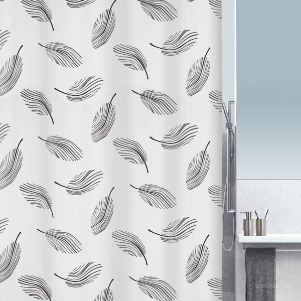 Κουρτίνα Μπάνιου (180x200) Spirella 10.16743 Plumo