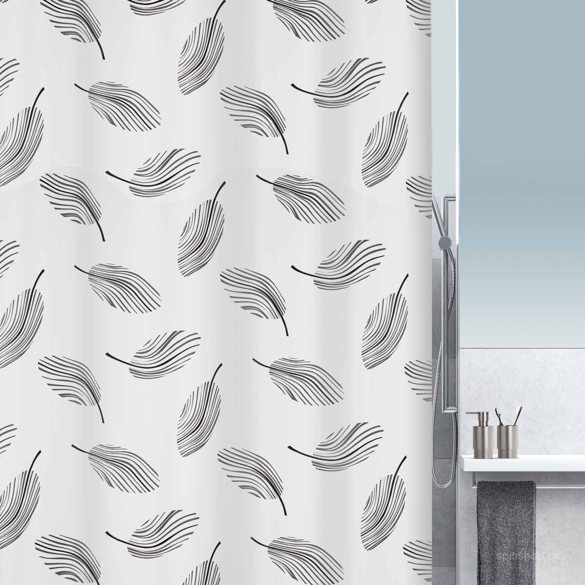 Κουρτίνα Μπάνιου (180×200) Spirella 10.16743 Plumo