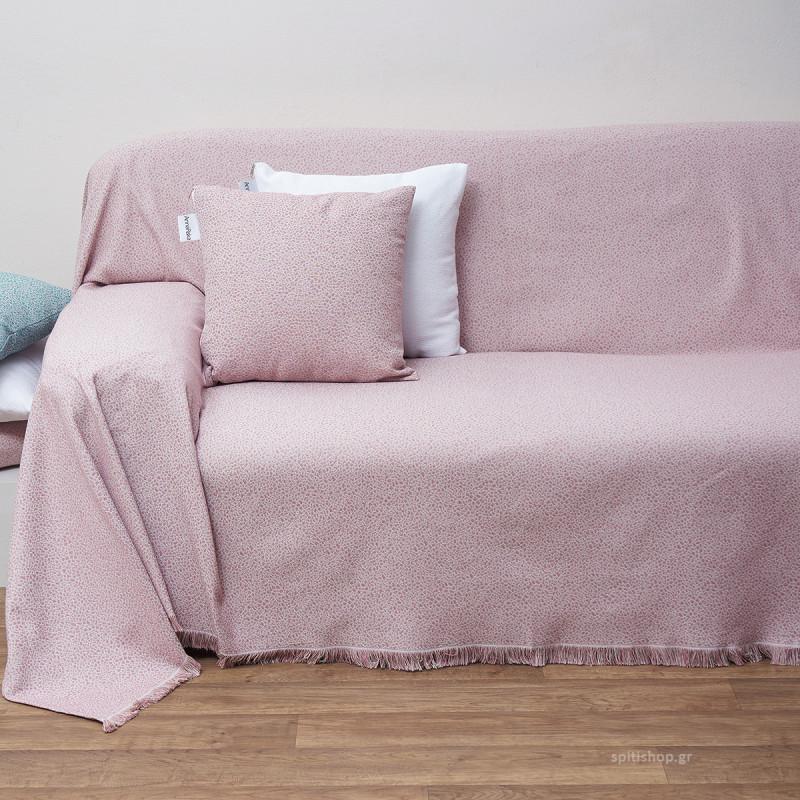 Ριχτάρι Πολυθρόνας (180x180) Anna Riska Des 1554 Blush Pink