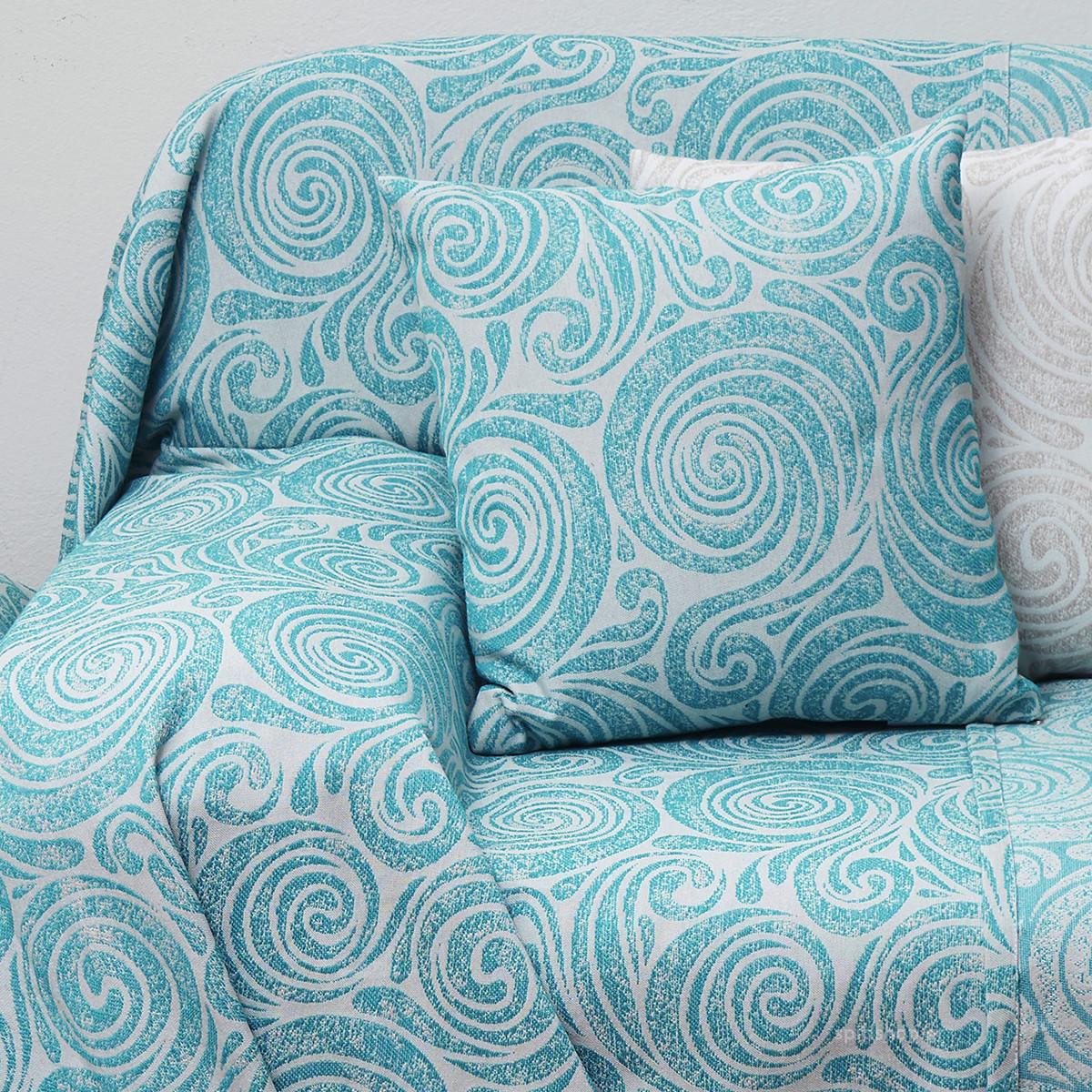 Διακοσμητικό Μαξιλάρι (55×55) Anna Riska Des 1558 Lake Blue