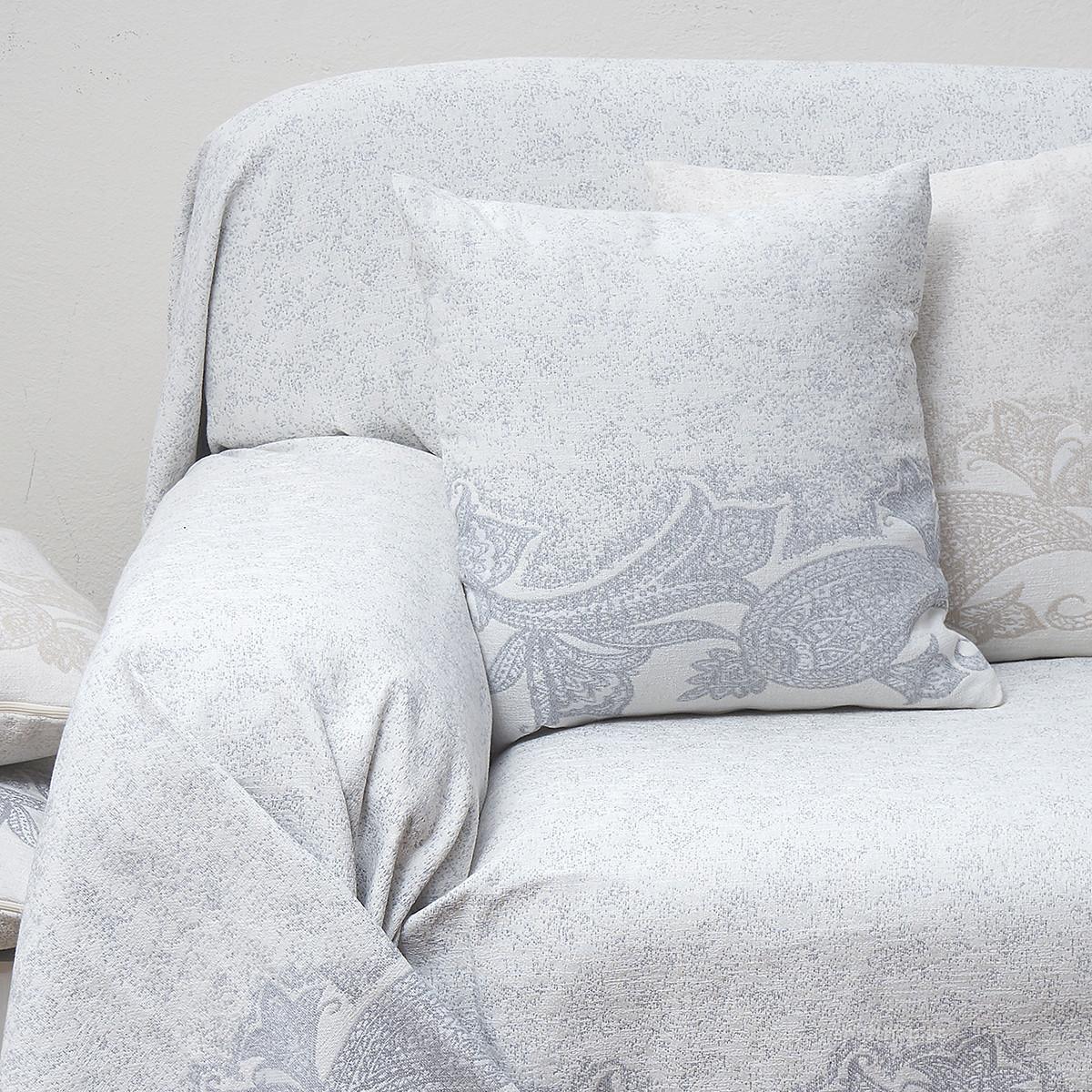 Διακοσμητικό Μαξιλάρι (55×55) Anna Riska Des 1559 Grey