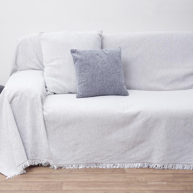 Ζεύγος Διακοσμητικές Μαξιλαροθήκες (45x45) Anna Riska Des 1300 Off White