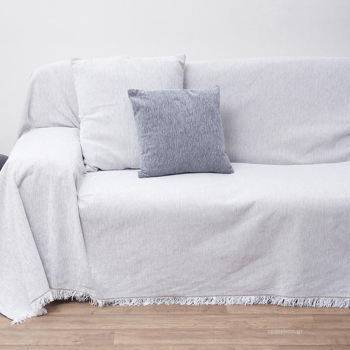 Ζεύγος Διακοσμητικές Μαξιλαροθήκες (45×45) Anna Riska Des 1300 Off White