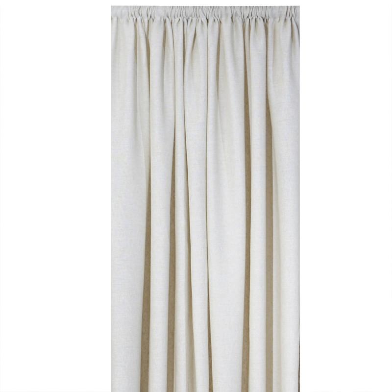 Κουρτίνα (140x270) Με Τρέσα Anna Riska Γάζα Moris Linen