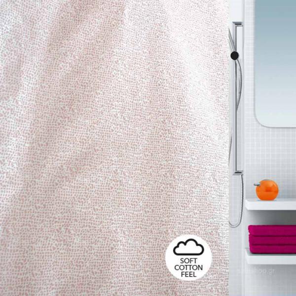 Κουρτίνα Μπάνιου (180x180) Spirella 02198.002 Anxa Rosa
