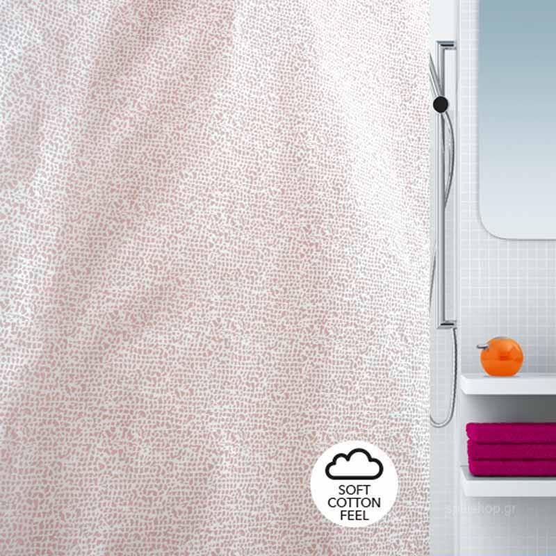 Κουρτίνα Μπάνιου (180×180) Spirella 02198.002 Anxa Rosa