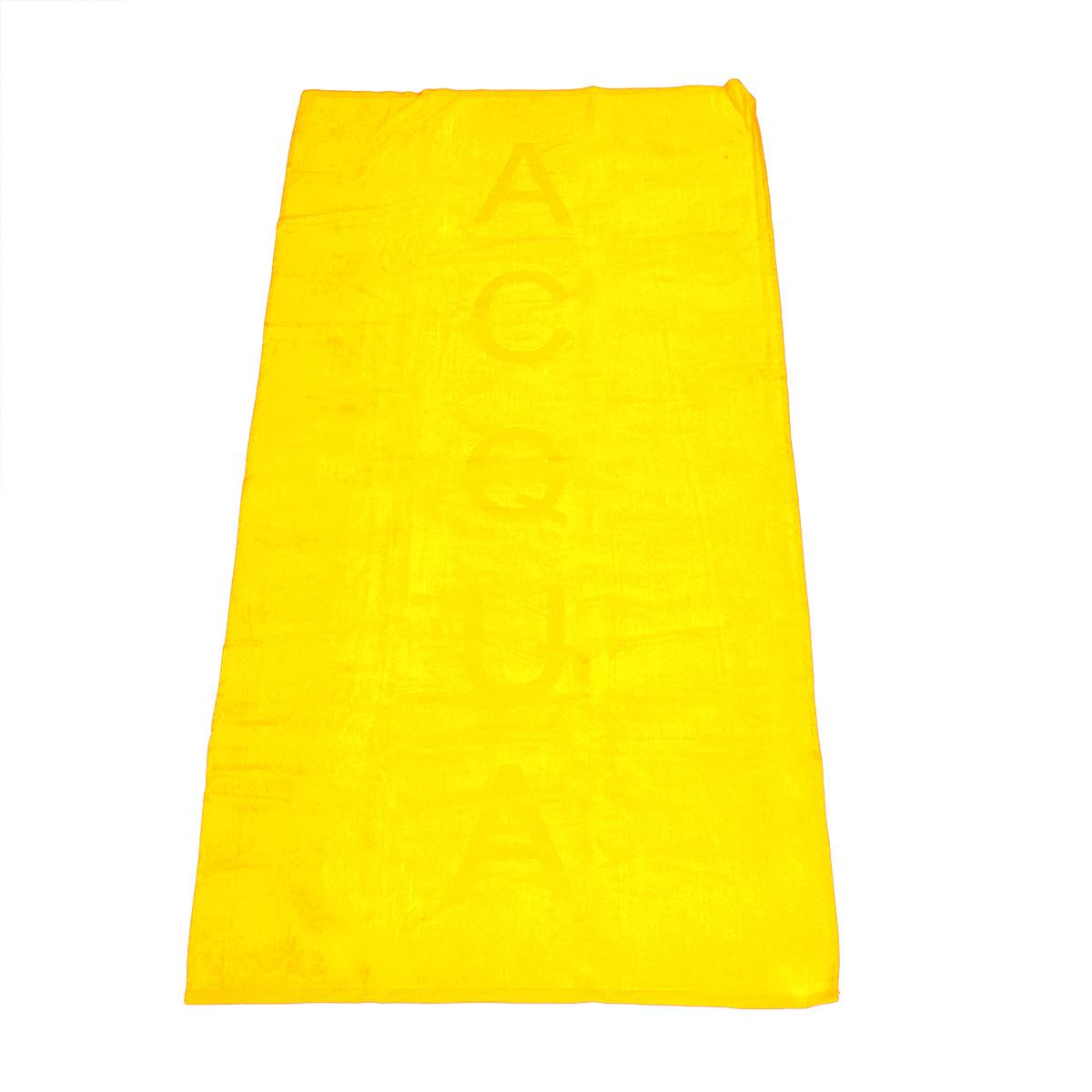 Πετσέτα Θαλάσσης Rythmos Acqua Yellow