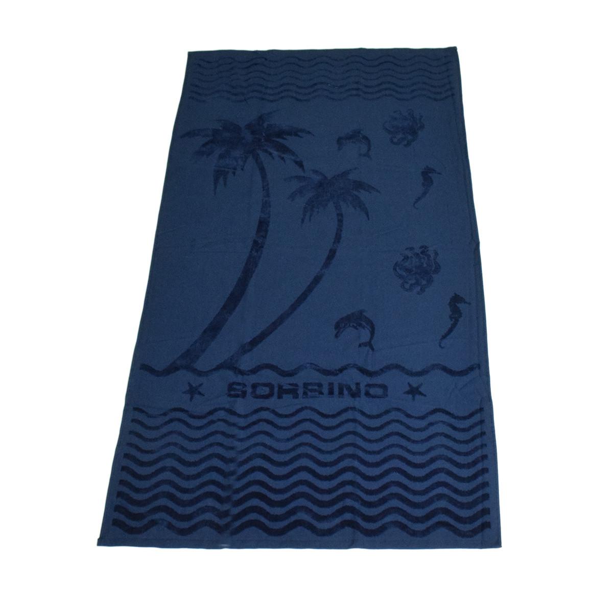 Πετσέτα Θαλάσσης Rythmos PalmTree Blue
