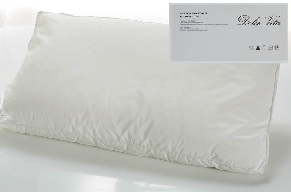 Μαξιλάρι Ύπνου White Egg Dolce Vita MX08
