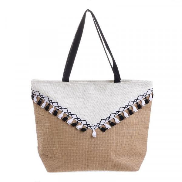 Ψάθινη Τσάντα Θαλάσσης InArt 5-42-151-0070