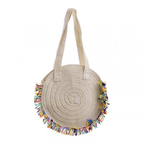 Ψάθινη Τσάντα Θαλάσσης InArt 5-42-051-0017