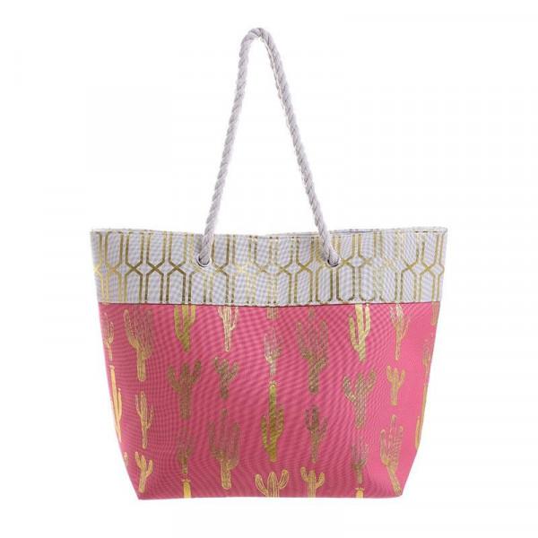 Ψάθινη Τσάντα Θαλάσσης InArt 5-42-051-0022
