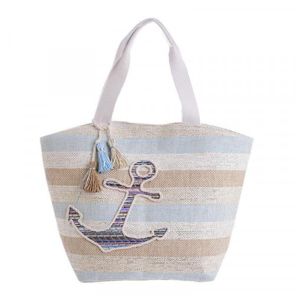 Ψάθινη Τσάντα Θαλάσσης InArt 5-42-367-0042