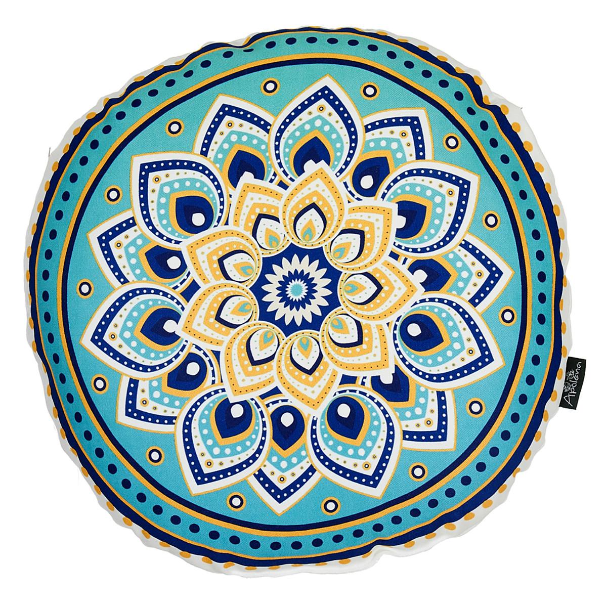Στρογγυλό Διακοσμητικό Μαξιλάρι (Φ35) Apolena 730-4811/1