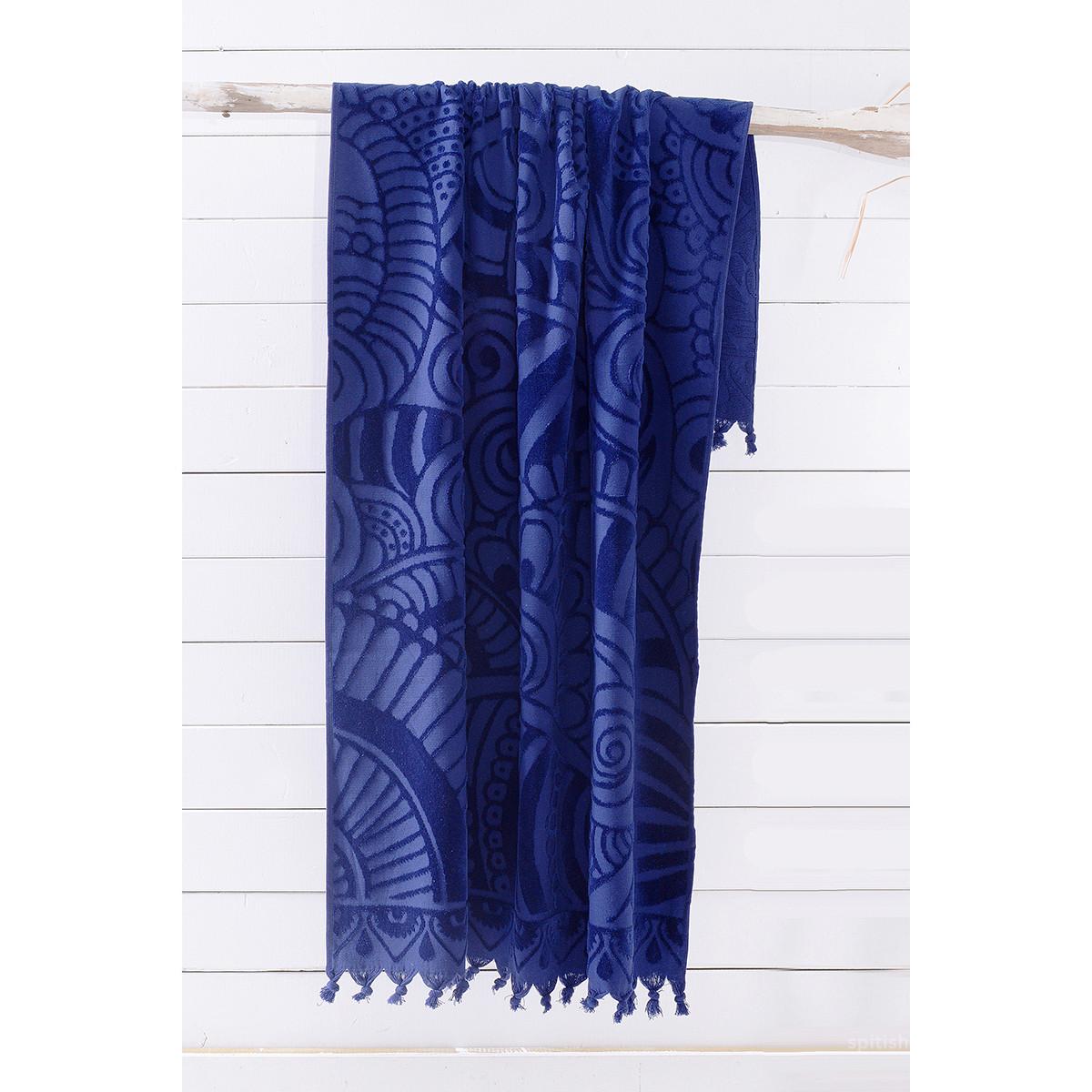 Πετσέτα Θαλάσσης Rythmos Cabarita 02 Dark Blue