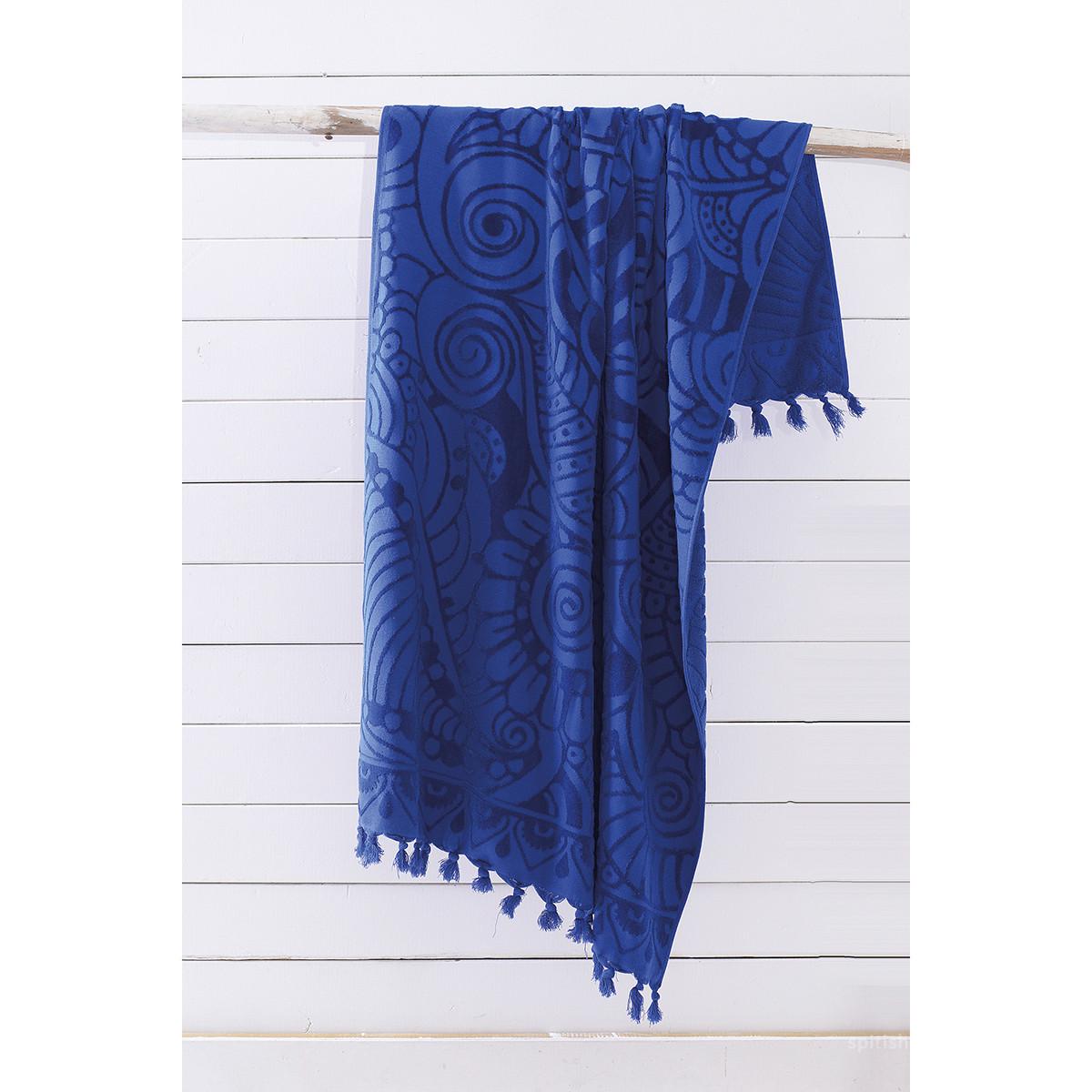 Πετσέτα Θαλάσσης Rythmos Cabarita 03 Blue