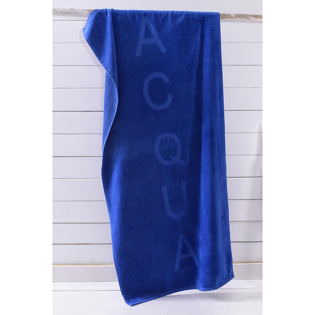 Πετσέτα Θαλάσσης Rythmos Aqua Blue