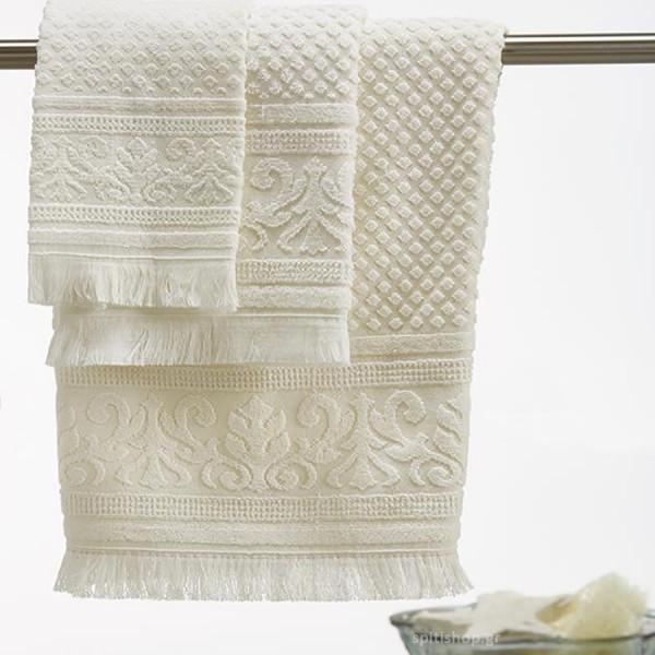 Πετσέτες Μπάνιου (Σετ 3τμχ) White Egg SP11/1
